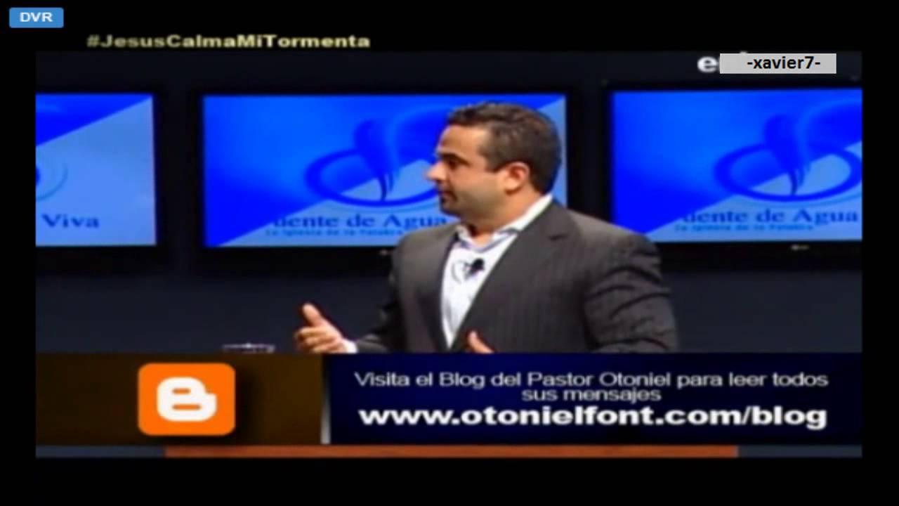 Otoniel font – Jesus Calma Mi Tormenta