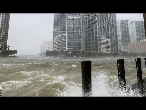 Huracán Irma inunda Miami, impactantes escenas