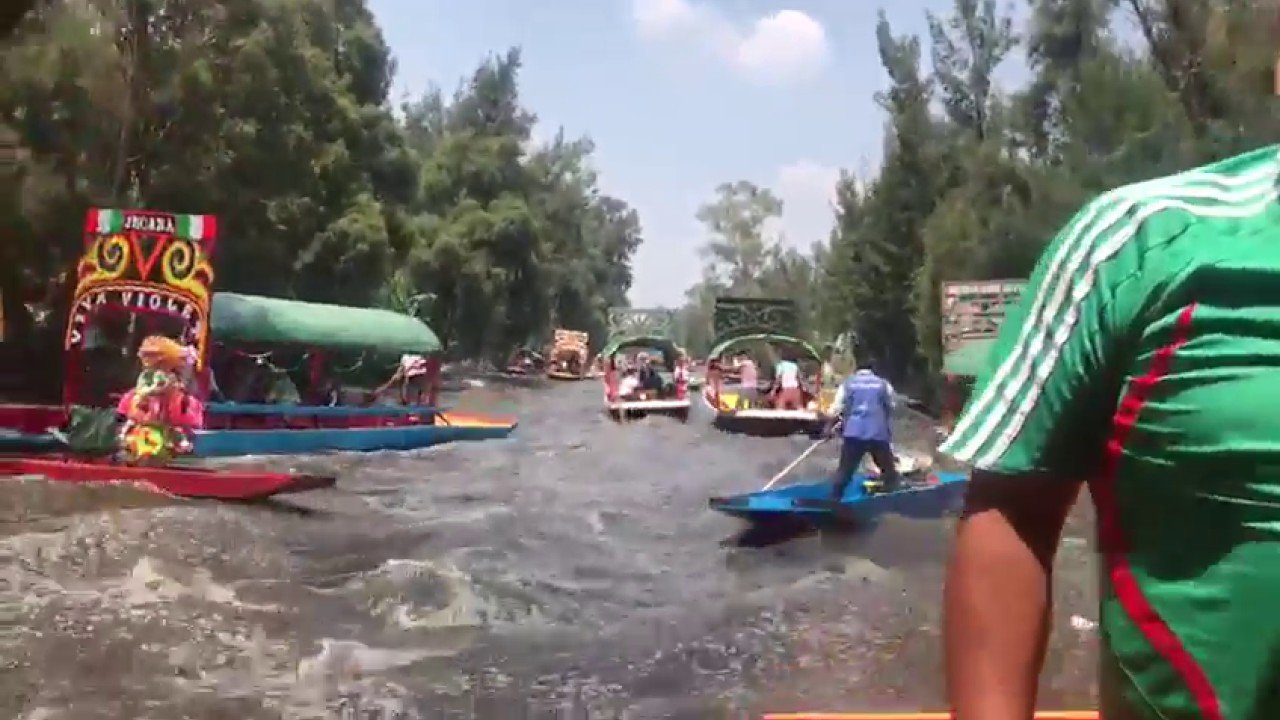 Terremoto en México, vídeo de Xochimilco CDMX