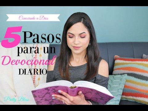 ¿Cómo hacer un devocional diario? - Pretty Bless