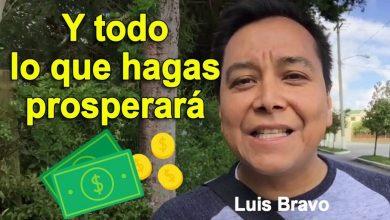 Photo of Y todo lo que hagas prosperara – Luis Bravo