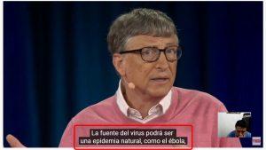 Bill Gates predijo el coronavirus CoVid-19