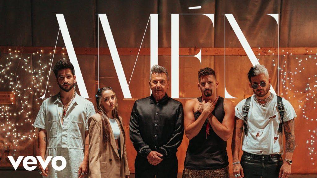 Ricardo Montaner, Mau y Ricky, Camilo, Evaluna Montaner – Amén